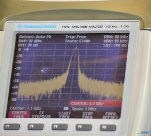 Rohde Schwarz Fsh3 Spectrum Analyzer With Preamp 100khz To 3 Ghz And Warranty
