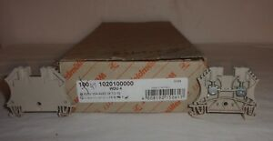 Weimuller Wdu 4 1020100000 Terminal Block Connectors Feed Thru Qty 47 New In Box