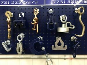 Auto Body Frame Machine 11 Piece Tools And Clamp Chain Set Special Pricing