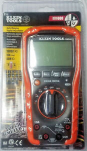 Klein Tools Mm600 Auto ranging Digital Multimeter New In Sealed Packaging