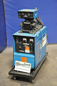 200 Amp Used Miller Dc Power Mig Welder With Millermatic Feeder Cp 200 A4018
