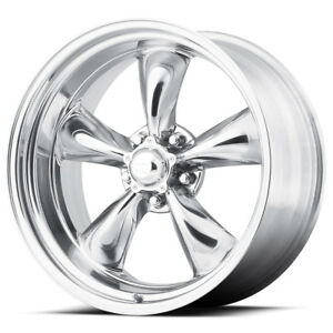 4 New 14 Inch 14x7 Ar Vn515 Torq Thrust Ii 5x4 75 0mm Polished Wheels Rims