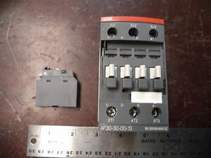 Abb Contactor Starter Relay P n Af30 30 00 13