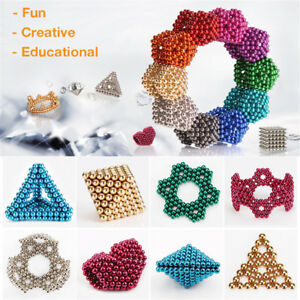 3d Magic Magnet Magnetic Diy Balls Sphere Neodymium Cube Luxury Beads