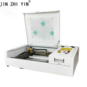 4040 50w Co2 Laser Engraving Machine 400 400mm With Honeycomb Table Cutter
