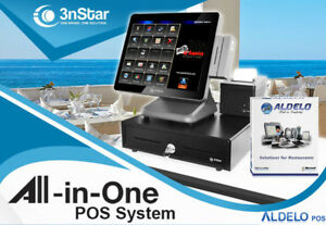3nstar Pos System Celeron 4gb 120gb Ssd Restaurant Bakery Bar For Aldelo pay