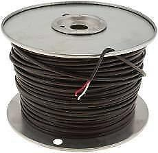 Thermostat Wire 18 Gauge 2 Wire 500 Ft Pvc Jacket