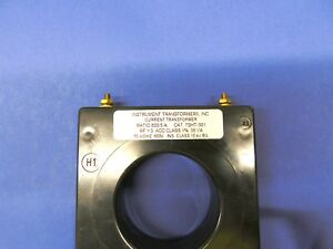 7sht 801 Current Transformer instrument Transformers Inc