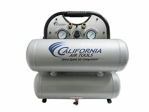 California Air Tools 4610a h Ultra Quiet Oil free Compressor Used