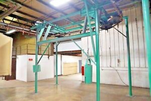 Rapid Ind Used X458 Conveyor System Approx 850 Ft Less Track And Floor Supports