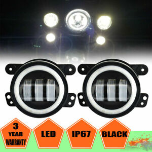 4 1 2 Chrome Led Auxiliary Passing Light Spot Fog Lamp For Harley Motorcycle