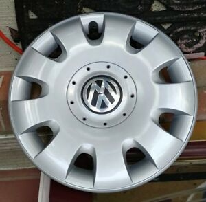 Oem 2005 2010 Vw Jetta Rabbit Golf 15 Hubcap 1t0601147 Free S H
