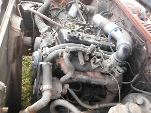 Nissan 2 2 Complete Running Diesel Engine 5 Speed Manual Transmission Will Ship