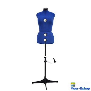 Dress Form Adjustable Sewing Display Stand Pinnable Female Fitting Top Torso