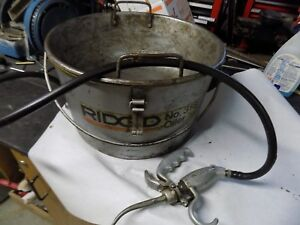 Ridgid No 318 Oiler W gun For No 300 700 Pipe Threader