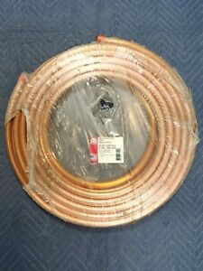 Ref 3 4 Copper Refrigeration Tubing Hvac Roll 50 X 3 4 Od Pancake Coil Sealed