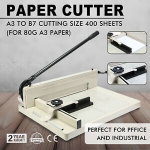 New 17 A3 Paper Cutters Trimmers Guillotines Heavy Duty Commercial Metal Base