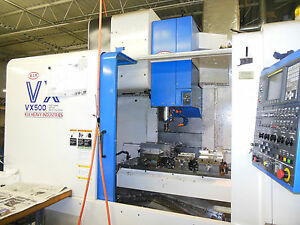 Kia Vx500 Cnc Vertical Machining Center price Reduced