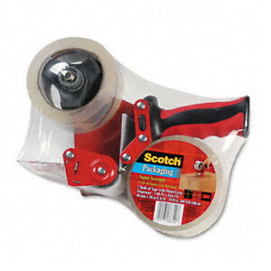 Heavy duty Packaging Tape And Dispenser pack Of 2