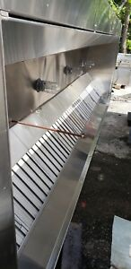 Captive Aire 20ft Hood System Complete make Up Air exhaust Fans Ansul System