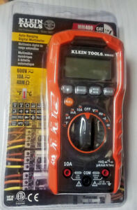 Brand New And Sealed Klein Tools Mm400 Auto Ranging Digital Multimeter