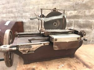 Vintage Meat Slicer American Slicing Company Mode W Meat Slicer Manual Berkel