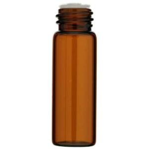 144 pack 1 Dram 4 Ml Amber Glass Vials With Orifice Reducer And Screw Caps