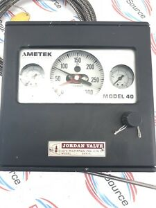 Ametek Model 40 Pressure Controller Model No 21km4145dw3210bl