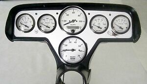 57 Chevy Car Custom 6 Gauge Instrument Panel Assembly P115702m