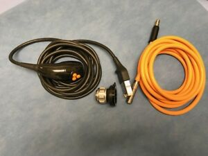 Smith Nephew Hd Camera Head And Coupler And Light Cord