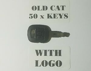 50 Old Style Cat Master Keys Ignition Keys Old Caterpillar Key Equipment