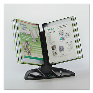Tarifold Inc Modular Reference Display Black Line Desk Set 10 Wire reinforced
