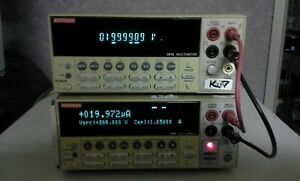 Keithley 2400 Source Meter Tested Programmable Labview Supported Uo To 200v 1a