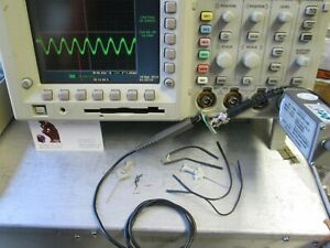 Tektronix P6247 1ghz Differential Probe Tested Accessories Included For Oscopes