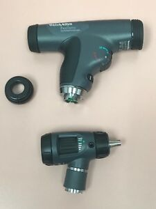 Welch Allyn Opthalmoscope 11820 W cobalt Filter Microview Otoscope 23810 Heads