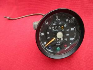 Smiths Dash Speedometer Gauge Sn 6203 38a 980 For Triumph Gt6 Tested