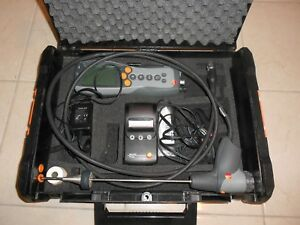 Testo 330 1 Combustion Analyzer Flue Gas Analyzer