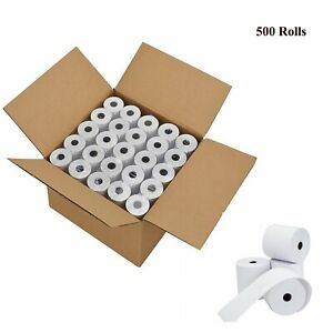 500 Rolls 2 1 4 X 85 Thermal Cash Credit Card Pos High Quality Receipt Paper
