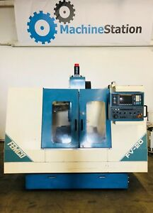 Femco Fv 20 Vertical Machining Center Cnc Mill Fanuc Vmc Mori Haas Vf 1 2 3