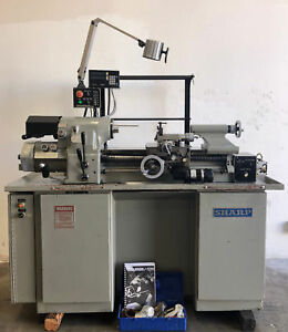 Sharp 1118h Precision Lathe 5c Collet Closer Sony Dro Hardinge Hlv h