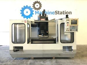 Haas Vf 3 Vertical Machining Center 4th Axis Gearhead 20hp Vf3 Cnc Mill 3