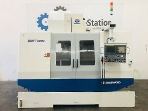 Daewoo Doosan Dmv 500s Cnc Vertical Machining Center 4020 Tsc Mill Vmc Mori Haas