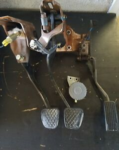 96 00 Civic Oem Clutch Pedal Assembly Set Manual 5 Speed Swap With Reservoir