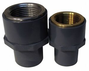 Pvc Transition Adapter Fnpt X Spg 1 1 2 Pipe Size Pipe Fitting