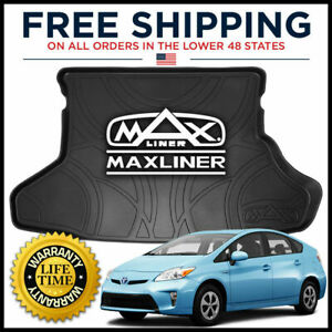 Maxtray Maxliner 2012 2015 Toyota Prius All Weather Cargo Trunk Liner Mat Black