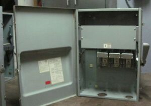 Ite 400 Amp 600 Volt A Disconnect Lockout Safety Switch 350hp Ac 50hp Dc Type 1