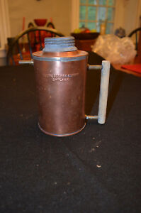 Vintage Copper Steam Generator Boiler Central Scientific Company Chicago