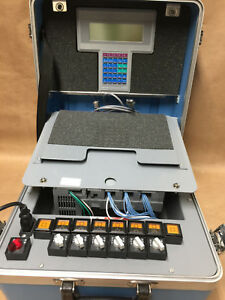 Allen bradley Plc 1747 demo 3 Slc 500 Training Kit 1747 pt1 Programmer 1747 c10