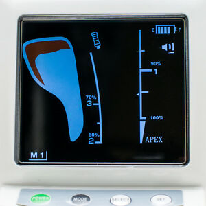 A dental Dentist Endodontic Colorfull Lcd Screen Apex Locator Root Canal Meter