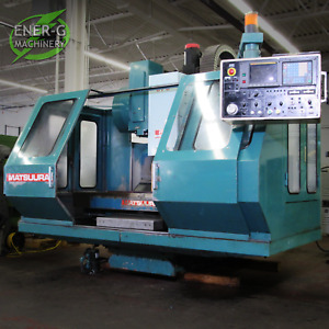 Matsuura Mc 760vx Cnc Vertical Machining Center Fanuc Control Id M 021
